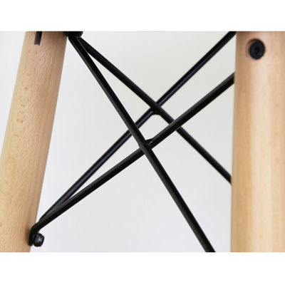 Retro Modern Faux Leather Counter Kitchen Stool
