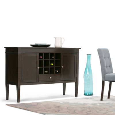 Carlton Sideboard Buffet & Wine Rack