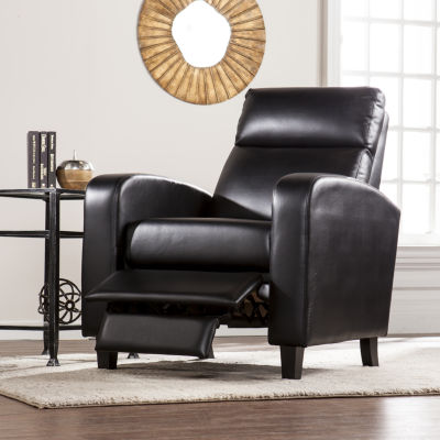 Southlake Furniture Faux Leather Two-Step Recliner