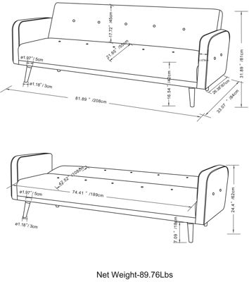 """Courtney Sofa Bed"