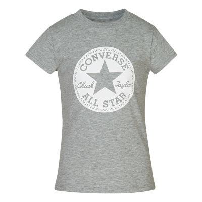 Converse Long Sleeve Graphic T-Shirt - Preschool Girls