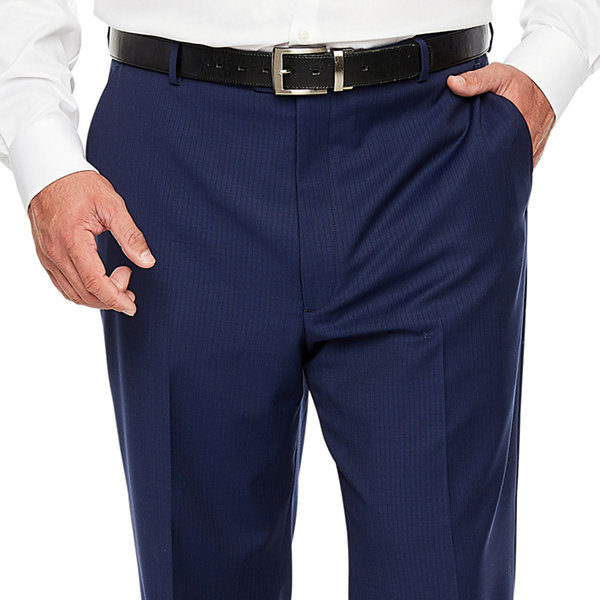 Stafford Super Striped Suit Pants - Big and Tall