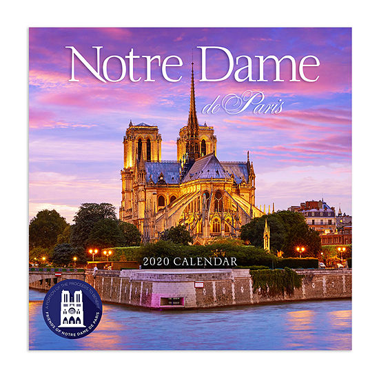 Tf Publishing 2020 Notre Dame De Paris Wall Calendar