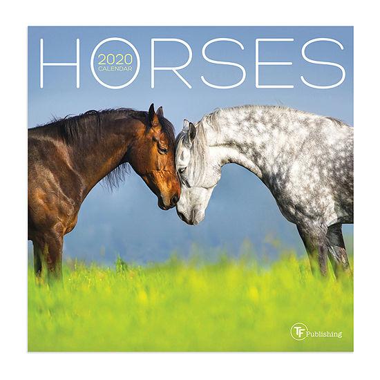 Tf Publishing 2020 Horses Mini Wall Calendar
