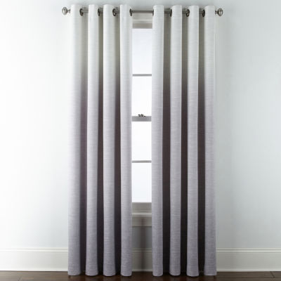 JCPenney Home Sullivan Ombre Blackout Grommet-Top Curtain Panel