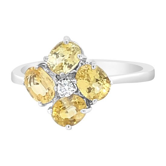 Le Vian Grand Sample Sale™ Ring featuring Yellow Sapphire Vanilla Diamonds® set in 18K Vanilla Gold®