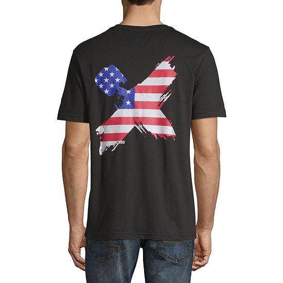 H4X Mens Crew Neck Short Sleeve Graphic T-Shirt
