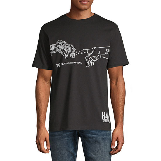 H4X Mens Crew Neck Short Sleeve Graphic T-Shirt