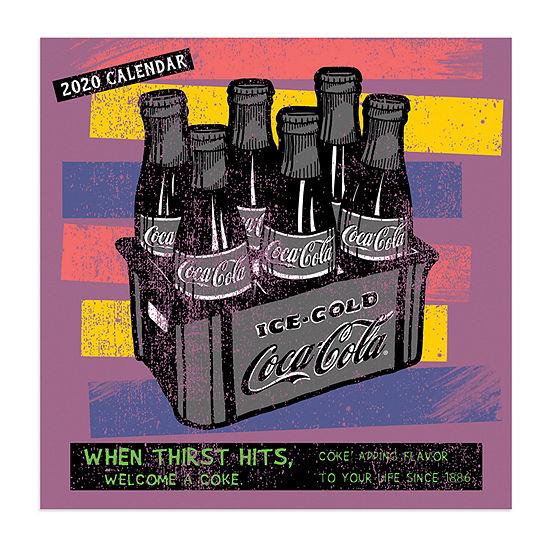 Tf Publishing 2020 Coca-Cola Mini Wall Calendar