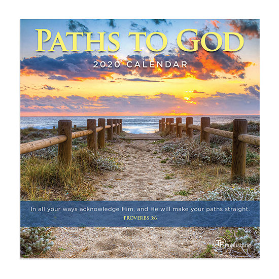Tf Publishing 2020 Paths To God Mini Wall Calendar