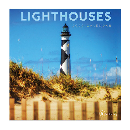 Tf Publishing 2020 Lighthouses Mini Wall Calendar