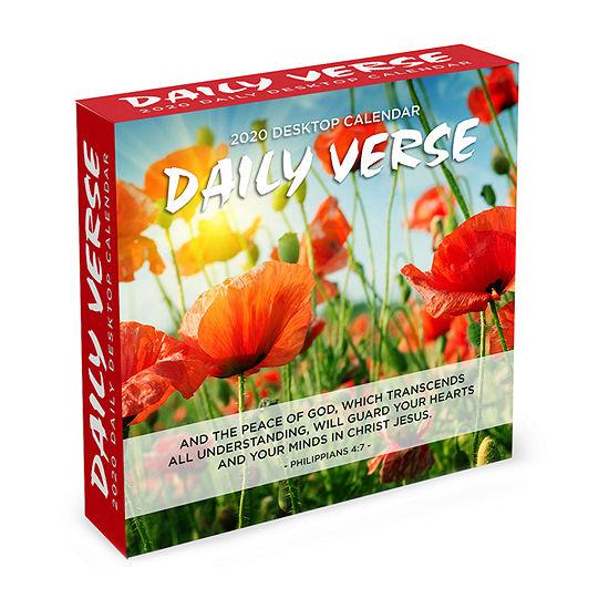 Tf Publishing 2020 Daily Verse Daily Desktop Calendar