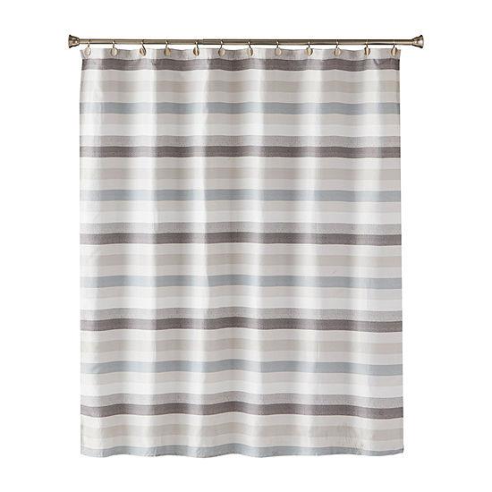 Saturday Knight Westwick Stripe Shower Curtain