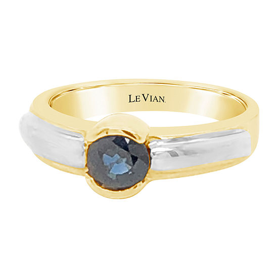 Le Vian Grand Sample Sale™ Ring featuring Blueberry Sapphire™ set in 14K Two Tone Gold