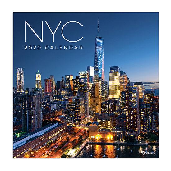Tf Publishing 2020 NYC Wall Calendar