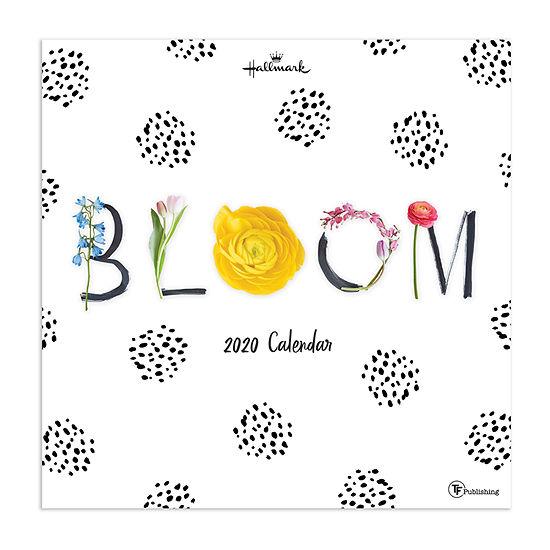 Tf Publishing 2020 Bloom Wall Calendar