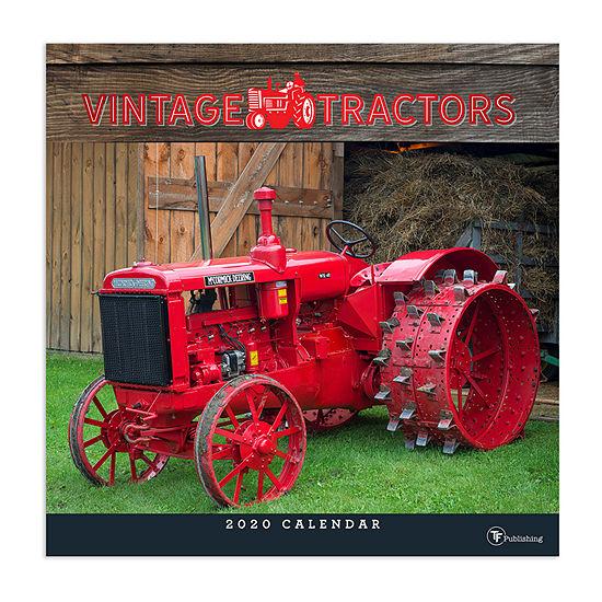 Tf Publishing 2020 Vintage Tractors Wall Calendar