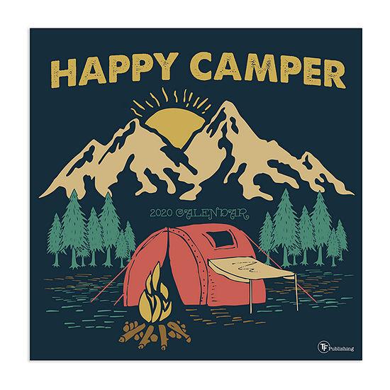 Tf Publishing 2020 Happy Camper Wall Calendar