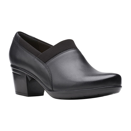 Clarks Womens Emslie Summit Slip-On Shoe