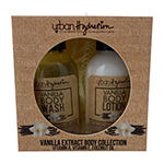 Urban Hydration Vanilla Extract Body Collection Travel Size - 3pc Value Set