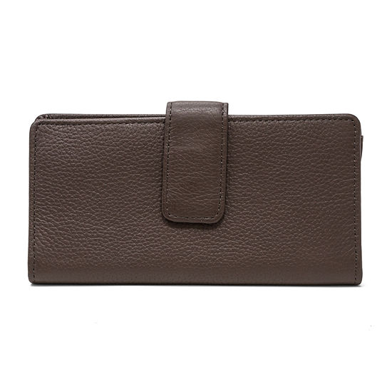 Mundi Leather Sandie Slim Fold Wallet