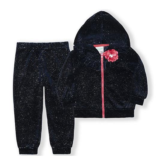 Nannette Baby Girls 2-pc. Pant Set