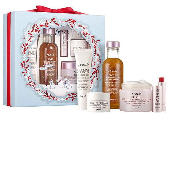 Fresh Rose Hydration Skincare Set ($97.00 value)