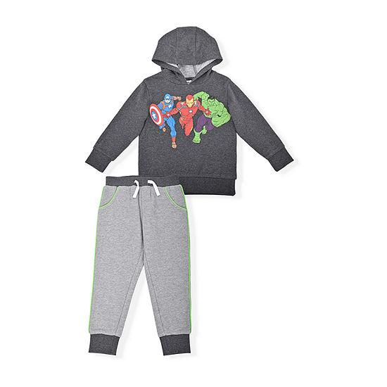 Marvel Toddler Boys Avengers 2-pc. Pant Set