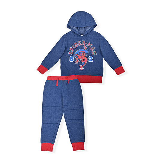 Marvel Toddler Boys Spiderman 2-pc. Pant Set