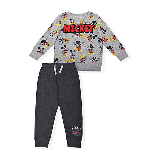 Disney Toddler Boys Mickey Mouse 2-pc. Pant Set