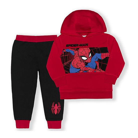 Toddler Boys Spiderman 2-pc. Pant Set