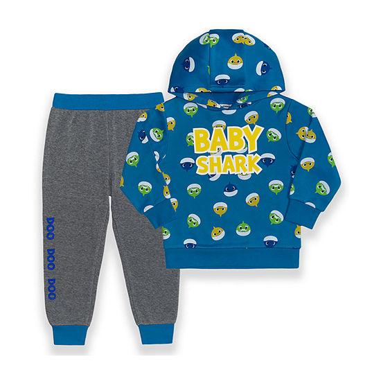 Pinkfong Toddler Boys Baby Shark 2-pc. Pant Set