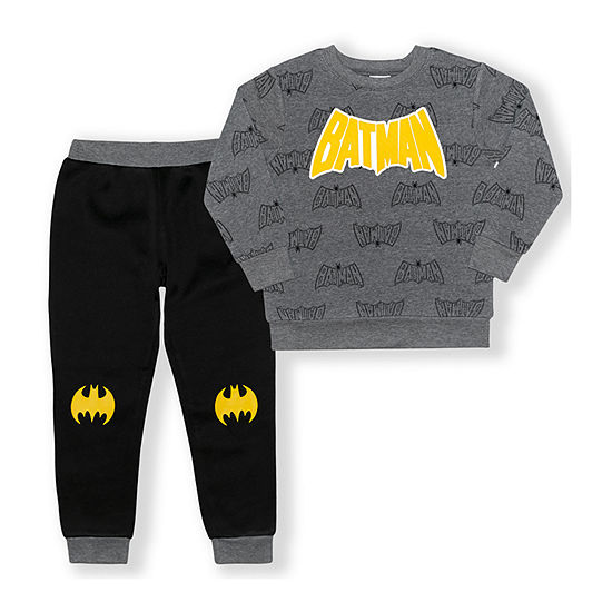 Toddler Boys Batman 2-pc. Pant Set