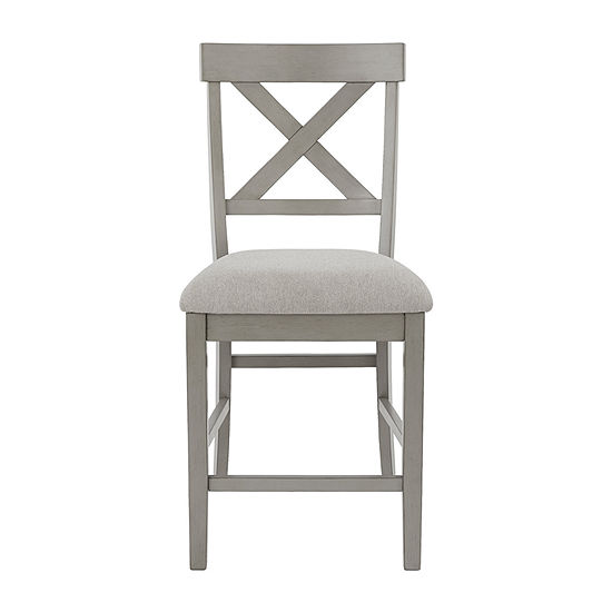 Signature Design by Ashley Paralee Dining Collection 2-pc. Counter Height Upholstered Bar Stool