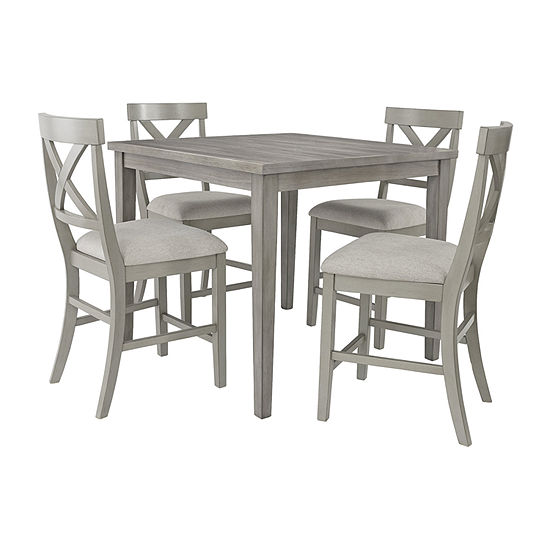 Signature Design by Ashley® Paralee 5-Piece Counter Height Dining Set