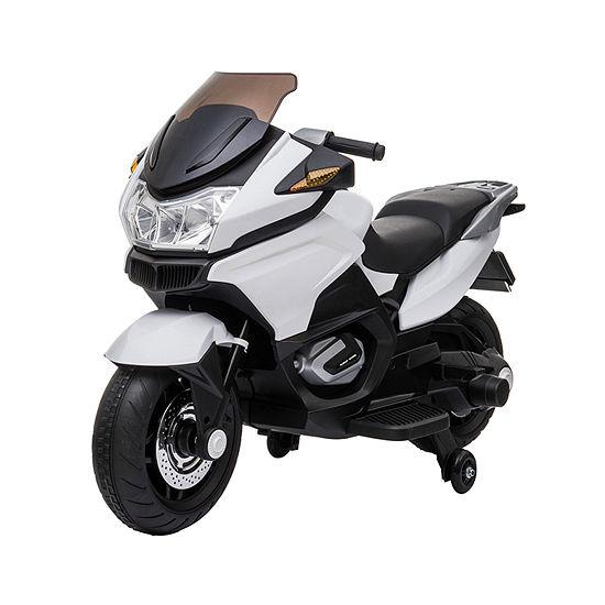 12v White Motorcycle