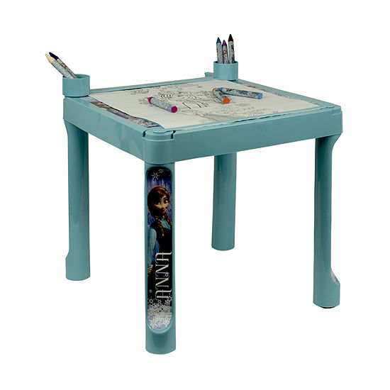 Plastic Coloring Table With Roll Paper