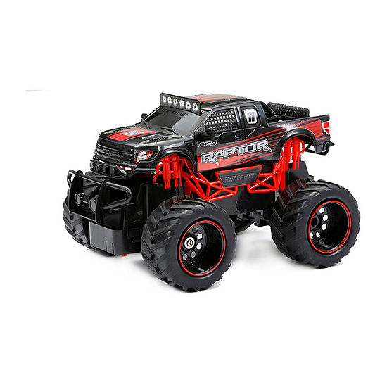 1:24 Scale Rc Ff Truck Ford Raptor  Red