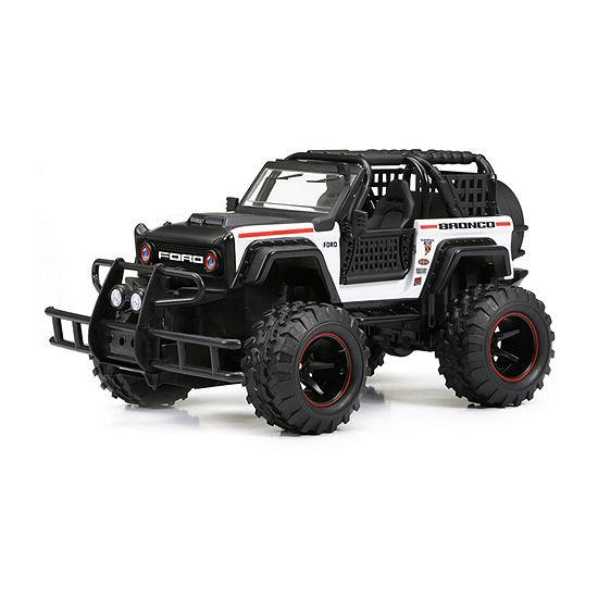 1:24 Scale Rc Ff Ford Bronco - White