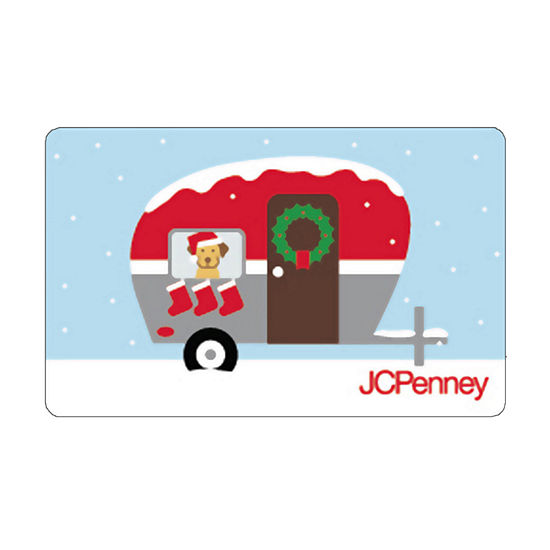 Holiday Camper Gift Cards