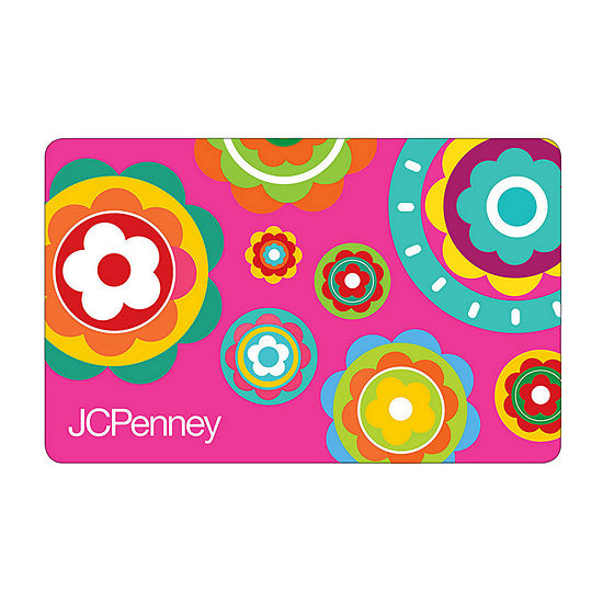 Pink Flowers Gift Cards