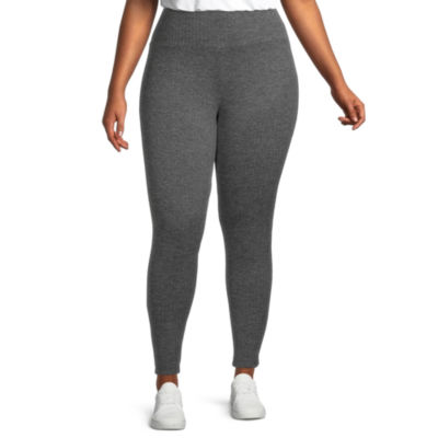 Stylus Plus Womens Mid Rise Full Length Leggings