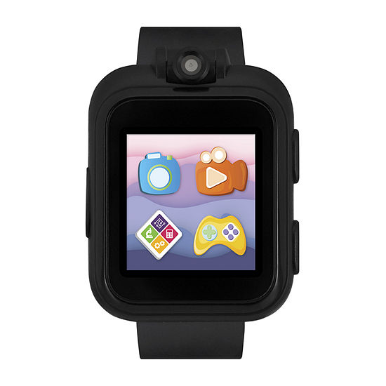 Itouch Playzoom Unisex Black Smart Watch-03494m-2-51-003