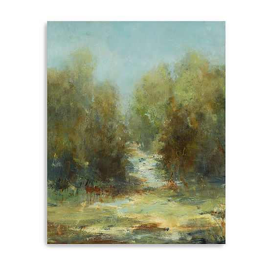 A Walk In The Woods Giclee Canvas Art