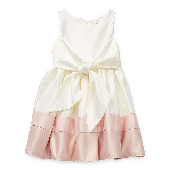 Emily West Little Girls Sleeveless Party Dress