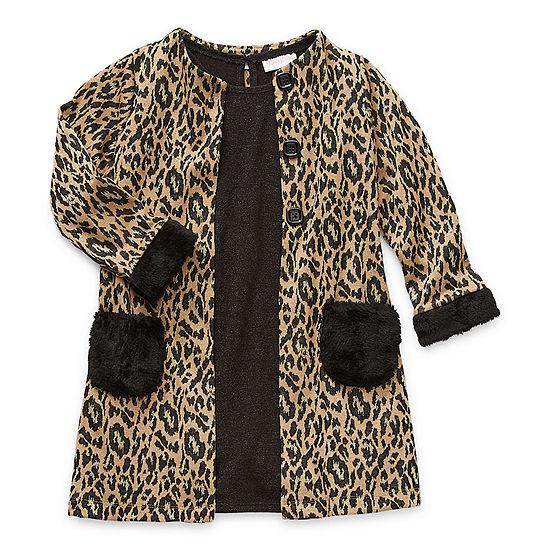Emily West Little Girls 2-pc. Jacket Dress