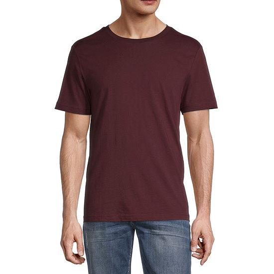 Arizona Mens Super Soft Crew Neck Short Sleeve T-Shirt