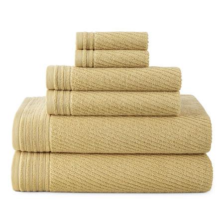 Linden Street Performance Bath Towel, One Size , Yellow
