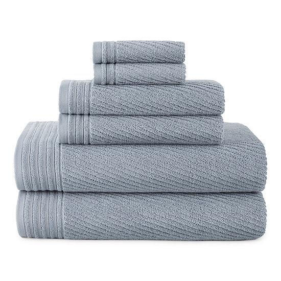 Linden Street Performance 6pc Bath Towel Set