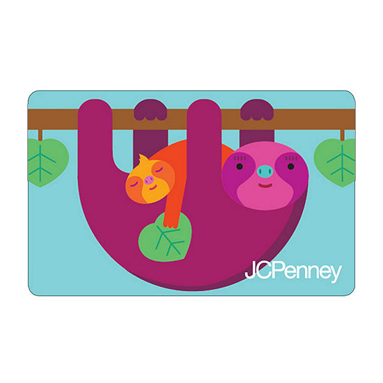 Sloth Gift Card